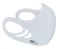Antimicrobial Spacer Face Mask - Solid White